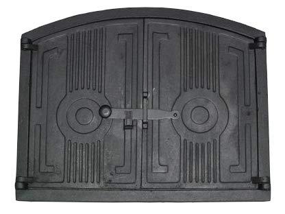 Brotofent r holzofent r 48 x 38 5 cm ofent r aus gusseisen for Sportello per forno a legna