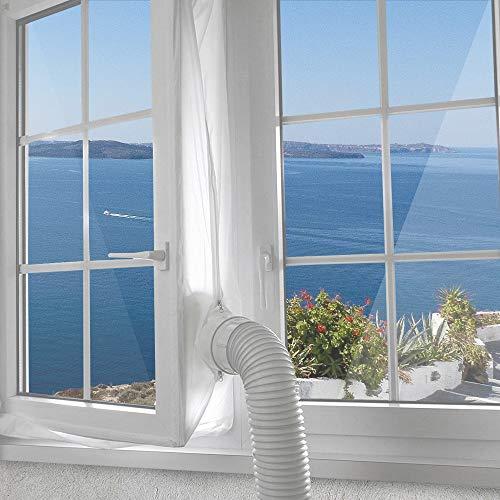 AirLock 100 Fensterabdichtung für mobile Klimageräte und Ablufttrockner 400cm